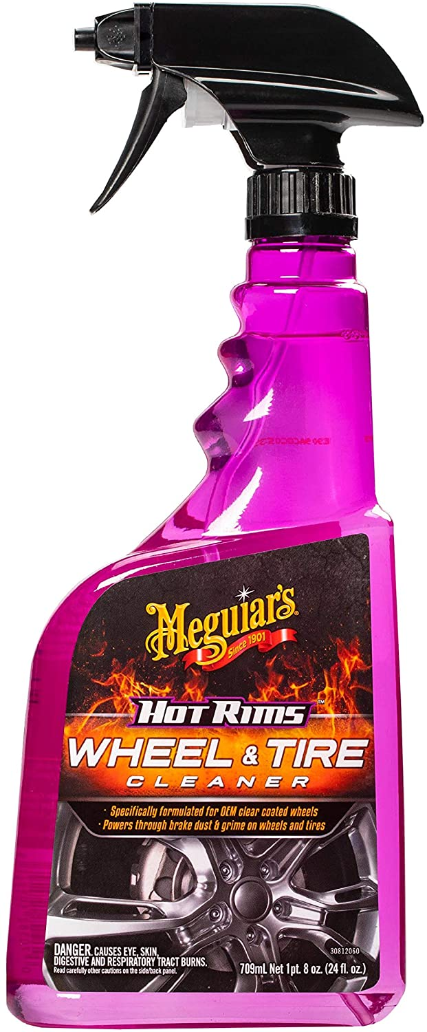 Meguiar's car wheel cleaning product