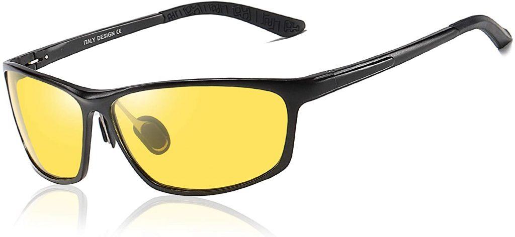 Duco Yellow Night-vision Glasses
