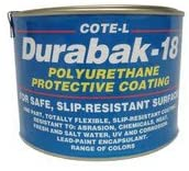 Durabak 18 Non Slip Coating, Bedliner, Deck Paint