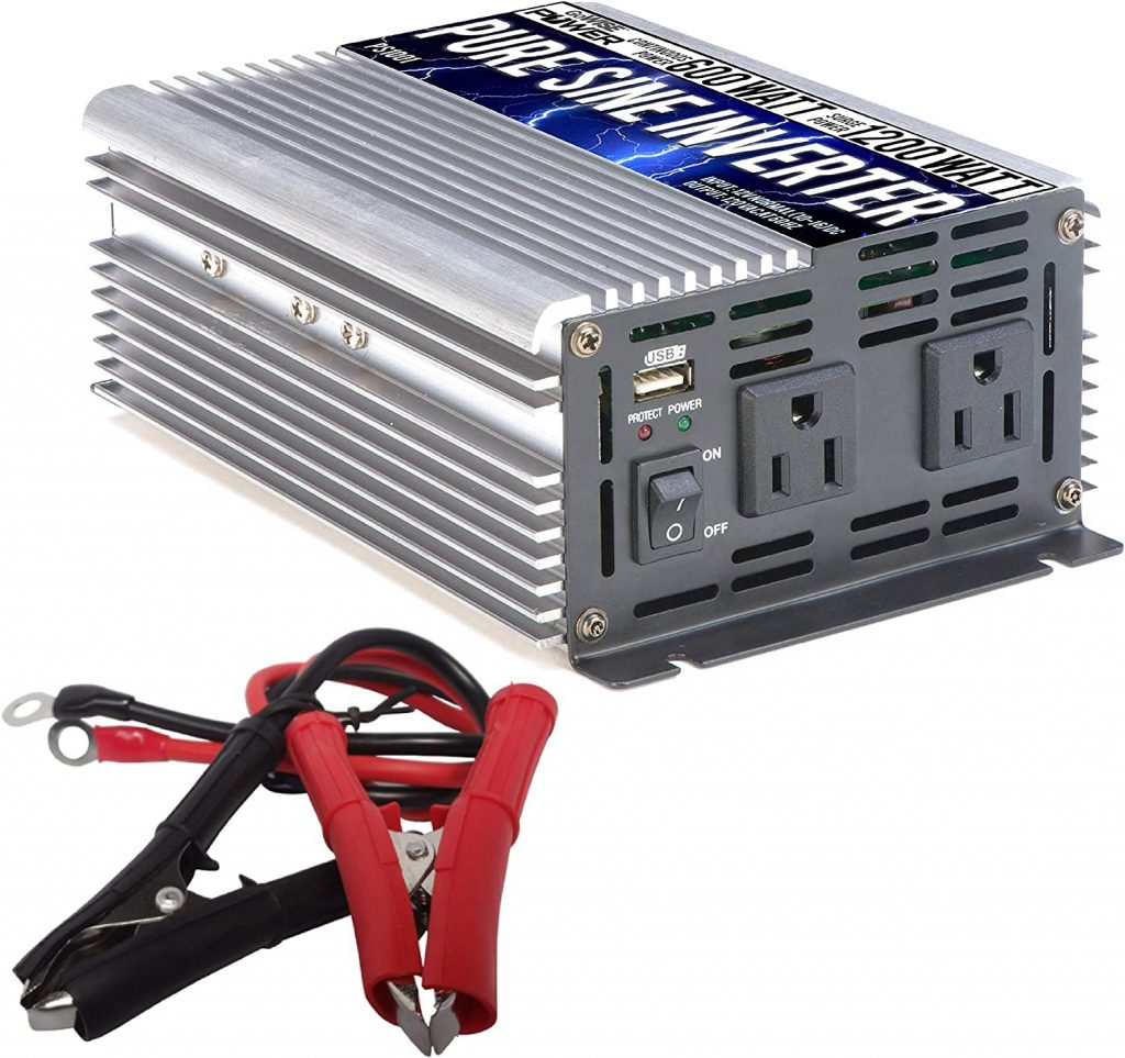 GoWISE Power 600W Pure Sine Wave Inverter