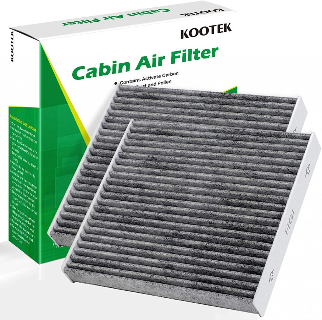 Kootek Cabin Air Filter with Activated Carbon