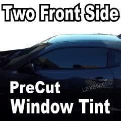 LEXEN 2Ply Carbon Two Front side Windows PreCut Tint Kit