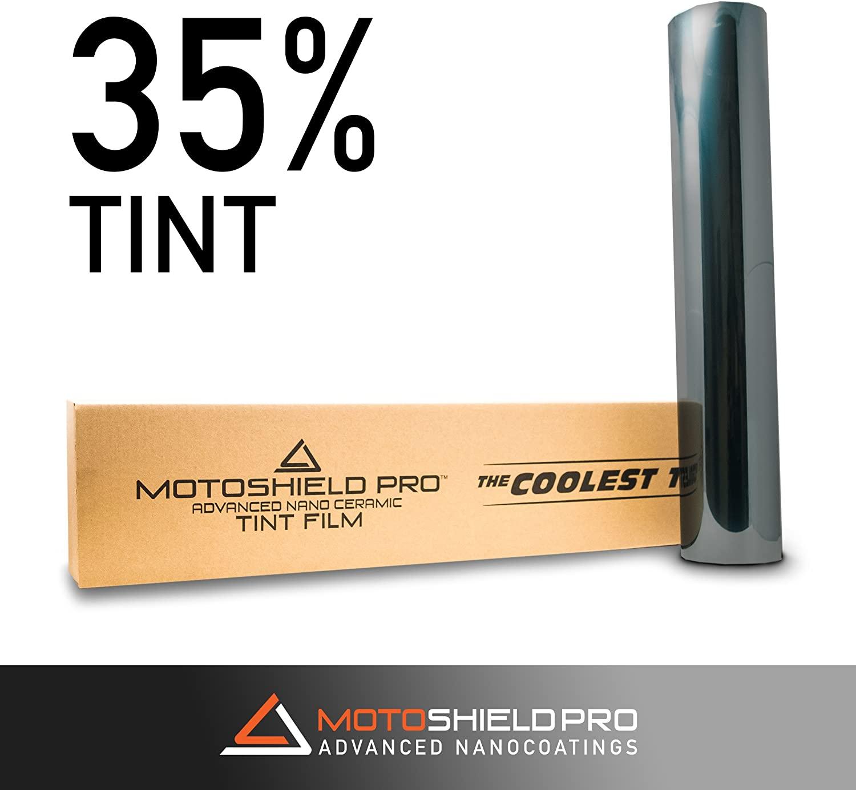 MotoShield Pro Premium 2mil Ceramic Window Tint