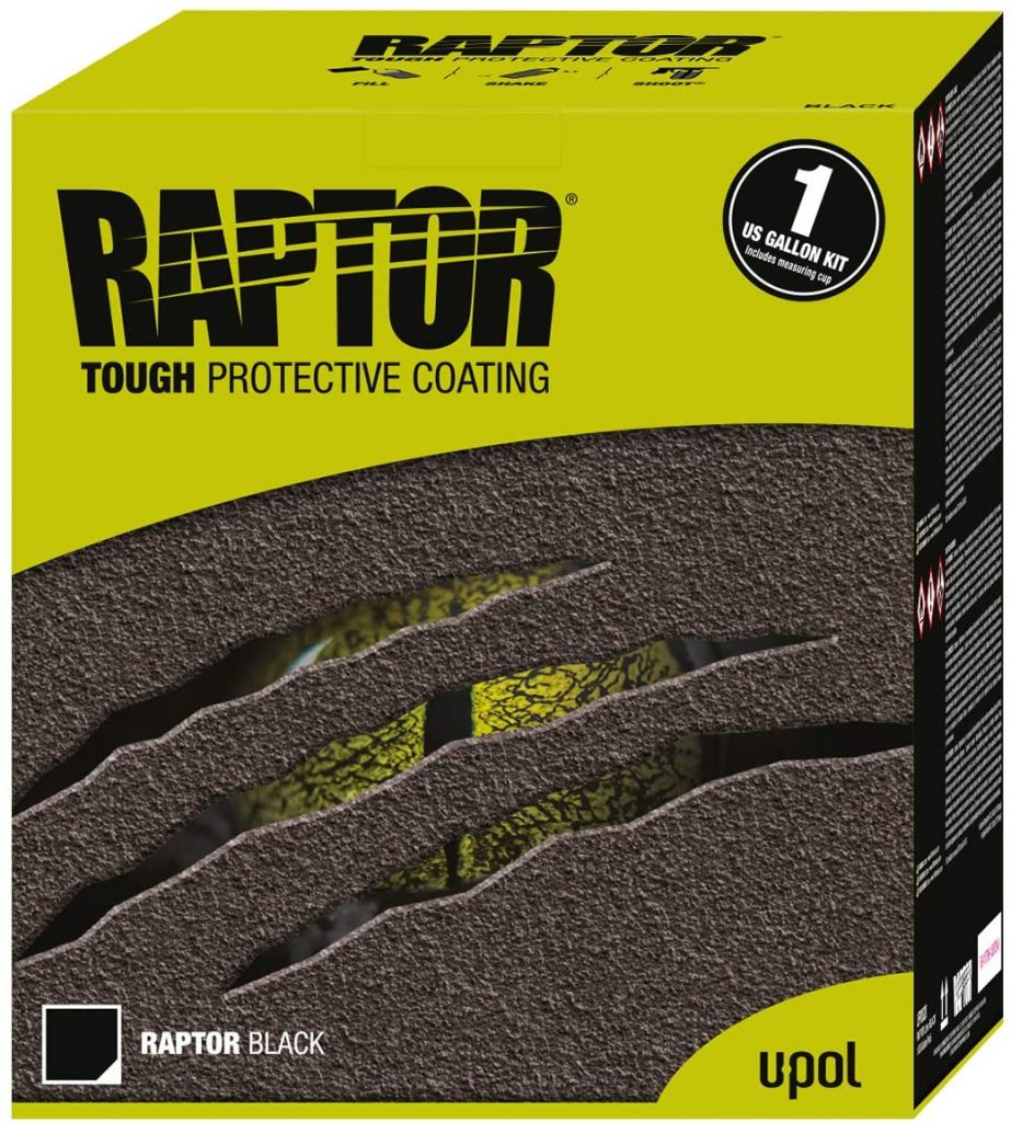 U-Pol Products RAPTOR Black Truck Bed Liner Kit