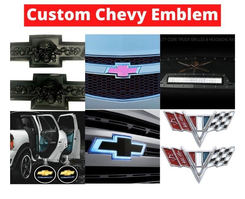 Custom Chevy Emblem