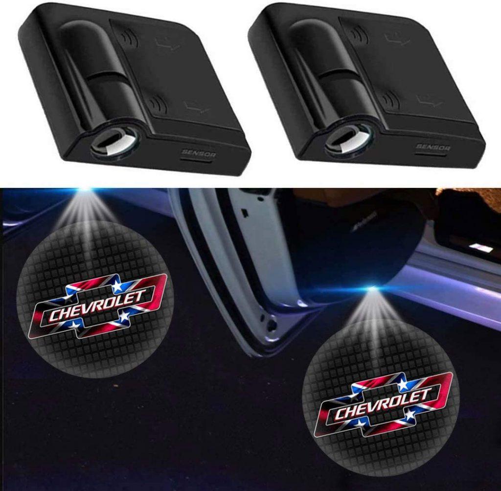 USA Car Door Projector Light