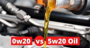 0w20 vs 5w20 Oil