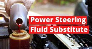 Power steering fluid substitute