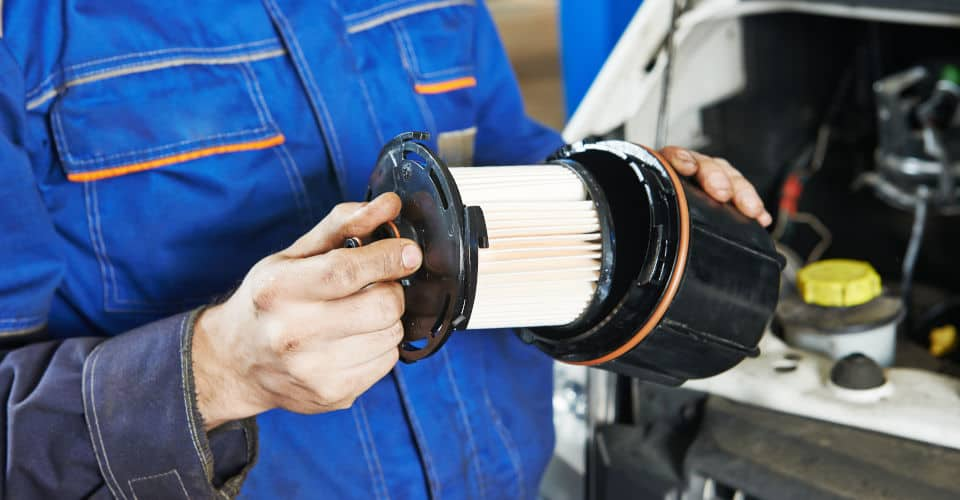 replace your fuel filters